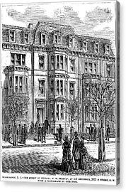 William Worth Belknap Acrylic Print by Granger