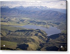 Williams Fork Reservoir Provides Water Acrylic Print by Michael S. Lewis