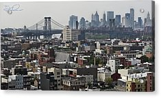 Williamsburg Bridge Acrylic Print