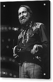 Willie Nelson, Cma Entertainer Acrylic Print by Everett