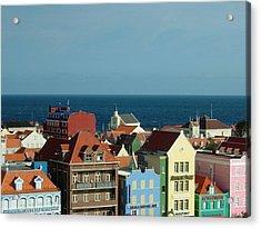 Williemstad Curacoa Acrylic Print