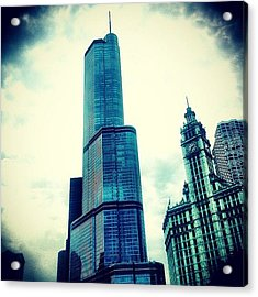 Willis Tower In #chicago Acrylic Print