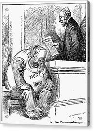 Wilson Cartoon, 1913 Acrylic Print by Granger