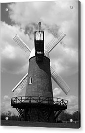 Wilton Windmill Acrylic Print by Michael Standen Smith