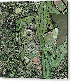 Wimbledon Tennis Complex, Uk Acrylic Print by Getmapping Plc