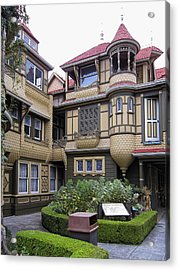Winchester House - Door To Nowhere Acrylic Print by Daniel Hagerman