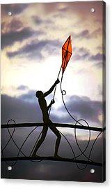 Winchester Kite Acrylic Print