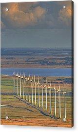 Wind Energy Acrylic Print by by Roberto Peradotto