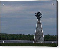 Acrylic Print featuring the photograph Wind Mill by Josef Pittner