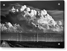 Wind Storm Acrylic Print