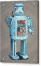 Wind-up Robot 2 Acrylic Print