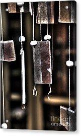 Windbreak Harp 2 Acrylic Print by Elena Mussi
