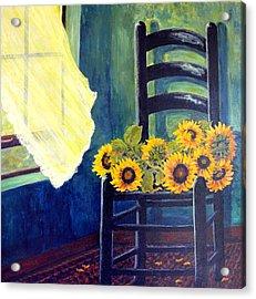 Windfall Acrylic Print by Carol Ann Wagner