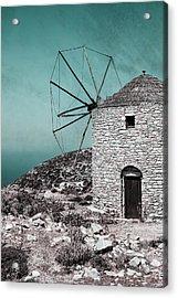 Windmill Acrylic Print by Joana Kruse