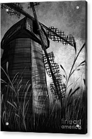 Windmill Wounded Acrylic Print