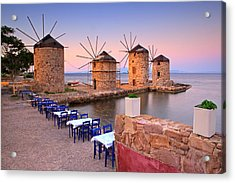 Windmills 2  Acrylic Print