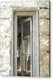 Acrylic Print featuring the photograph Window by Christophe Ennis
