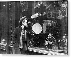 Window Display, C1910 Acrylic Print by Granger