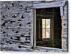 Window Frame Acrylic Print