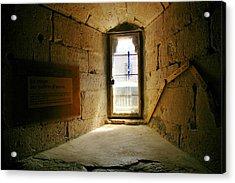 Window In The Abbey Of Senanque Acrylic Print by Christine Burdine