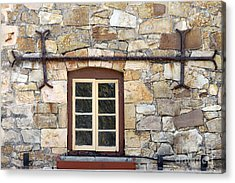 Window Into The Past Acrylic Print