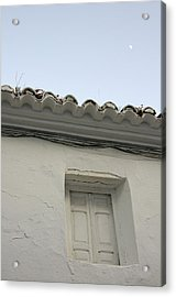 Window Of An Old Spanish House Acrylic Print by Perry Van Munster