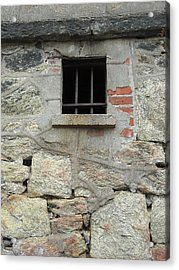 Acrylic Print featuring the photograph Window Of Desire by Christophe Ennis