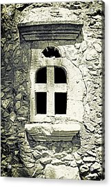 Window Of Stone Acrylic Print by Joana Kruse