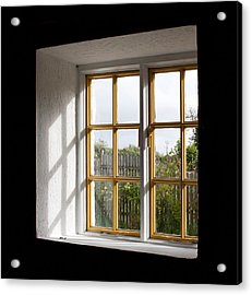 Window  Acrylic Print by Semmick Photo