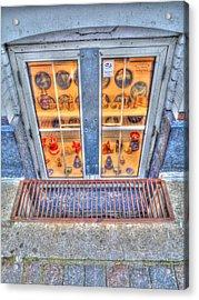 Window Shopping Acrylic Print by Barry R Jones Jr