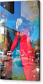 Window Shopping In Aspen Acrylic Print