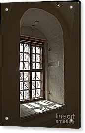 Window Sobor Acrylic Print by Yury Bashkin