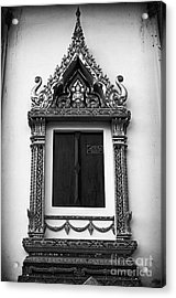 Window Acrylic Print by Thanh Tran