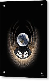 Window To My World Acrylic Print by Peter Chilelli