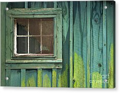 Window To The Past - D007898 Acrylic Print by Daniel Dempster