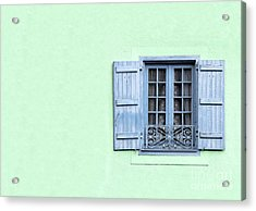 Window With Copy Space Acrylic Print by Jane Rix