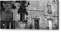 Acrylic Print featuring the photograph Crumbling In Croatia by Andy Prendy