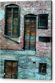 Windows Acrylic Print