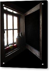 Acrylic Print featuring the photograph Windowsill by Raymond Earley