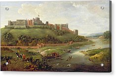 Windsor Castle Acrylic Print by Hendrick Danckerts