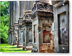 Acrylic Print featuring the photograph Windsor Ruins 1 by Jim Albritton