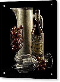 Wine Anyone? Acrylic Print by Jen Morrison