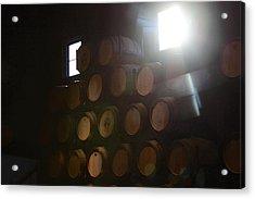 Wine Barrels Acrylic Print by Viktor Savchenko