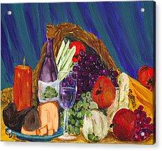 Wine Cornucopia Acrylic Print