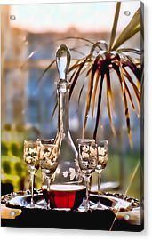 Wine For All Acrylic Print