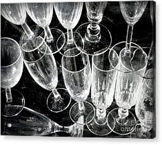Wine Glasses Acrylic Print by Lainie Wrightson