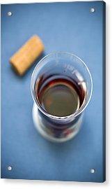 Wine Tasting Acrylic Print by Frank Tschakert