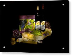 Wine Time Acrylic Print by Stan Williams