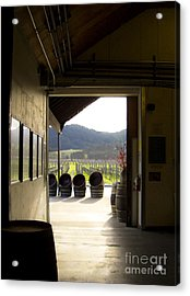 Acrylic Print featuring the photograph Wineries by Leslie Hunziker