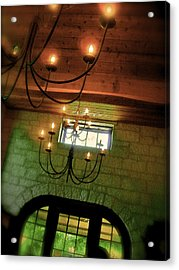 Winery Ceiling Acrylic Print by Amber Hennessey